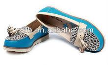 leopard women flat dress shoes