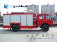 Dongfeng 4*2 8000L,160hp,Euro 3,low price,6 wheels,water foam fire fighting truck