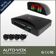 Car LED reverse parking sensor with sensors parking aid