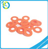Eco-friendly High Temperature Resistant Colourful Custom Silicone Rubber Flat Ring Gasket