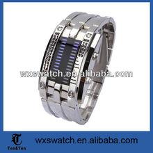Wholesale Japanese inspired red iron samurai led watch