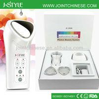 High tech Rechargeable IPL LED light photon galvanic microcurrent e-light beauty equipment