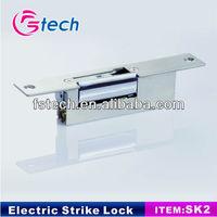 CE 400KG listed fail secure electric strike locks bulldog garage door lock