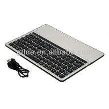 Gtide Aluminum Bluetooth Keyboard for Android Tablet, KB651, Black