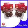 4mil multi color custom printing mini 3side seal laminated vacuum beef jerky bag for food