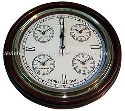world clock/wall clock/antique clock