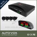 boa qualidade de espionagem carro kit sensor de estacionamento com campainha de alarme