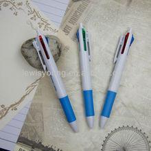 school use/promotional pens,4 colors ball pen