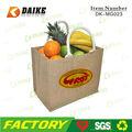 Personalizado reciclados imagem de saco de juta DK-MG023