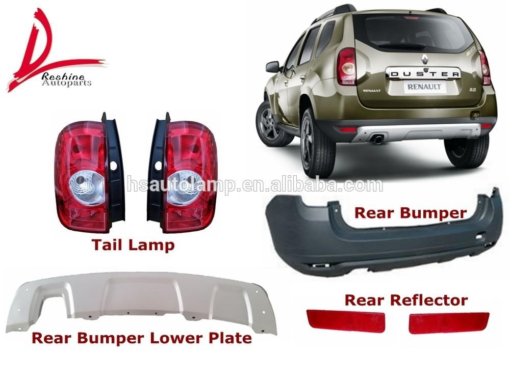 Renault Duster Rear Spoiler Renault Dacia Duster Rear