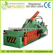 hydraulic manual scrap metal recycle baler machine