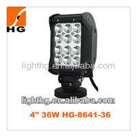 4inch 36W 2628lm HG-8641-36 quad row led light bar tractor