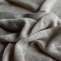 Qiao moda de confecção de malhas 100% roupa para a mulher elegante vestido, lenço ou camiseta