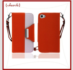 best quality purse cover for iphone 4(CIPC0063-9)