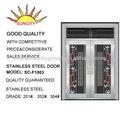 Porta giratória de aço inoxidável grade da janela sc-d1003
