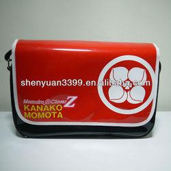 Multifunctional durable red duffel bags waterproof travel bag