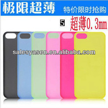 Ultra thin case for iphone 5 with candy color