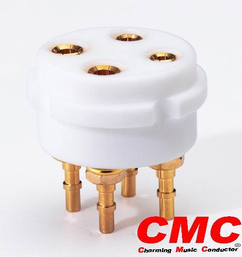 Cmc conectores Rca / Rca / bornes / zócalo del tubo