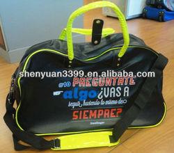 Multifunctional durable fashion duffel bags waterproof travel bag