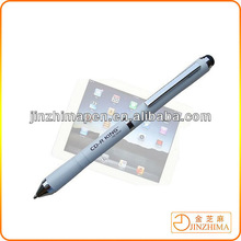 Fashion rubber tip stylus pen,lcd monitor pen,tablet for ipad pen