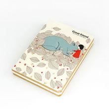 Languo de dibujos animados decorativenote libros para los estudiantes para venta al por mayor modelo : YLYL-1072