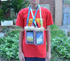 2014 New Cellphone clear waterproof Beach Pouch dry bag with lanyard