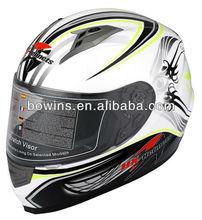 carbon fiber full face racing motorcycle helmet
