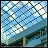 Arched glass skylight