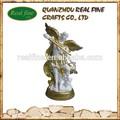 Resina religiosos estátua de anjo, arcanjo resina para decoração de interiores