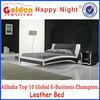 Simple deisgn queen size wooden bed models 2905