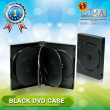wholesale lots for sale 22mm 8discs black dvd case
