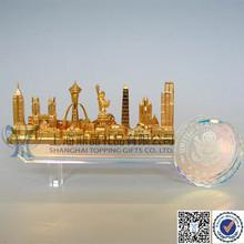 Crystal Decorative Skyline Key