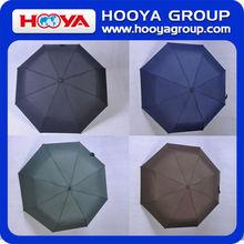 2014 open and close straight long custom promotion unique handle umbrella