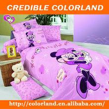 cartoon pink printed baby bed line