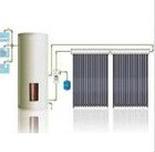 balcony hanging vertical heat pipe solar thermal collector system
