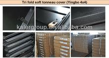 HOT SALE Tri-fold Tonneau Cover for 2012 New TOYOTA HILUX VIGO Single Cab