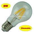 2015 neueste high Effizienz 165lm/w dimmbar/nicht dim filament led lampe e27
