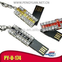 usb cross , cross usb flash disk necklace , cross necklace usb flash drive (PY-U-174)