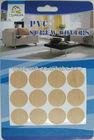 Decorative furniture adhesive screw cover