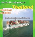 Tipos de navios e navios para banguecoque e lat krabang da tailândia a partir de xangai, shenzhen ningbo