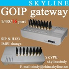 ip pbx gsm gateway/voip wireless terminal/GOIP 16 sim gateway
