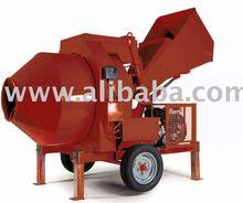 Hydraulic concrete mixers