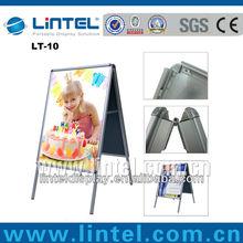 indoor advertising display double side poster board