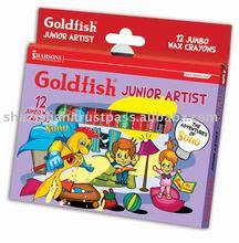 Goldfish 12 Colors Mix Color Crayon