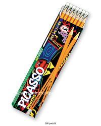 PICASSO 500 HB Natural Black Wood Pencil