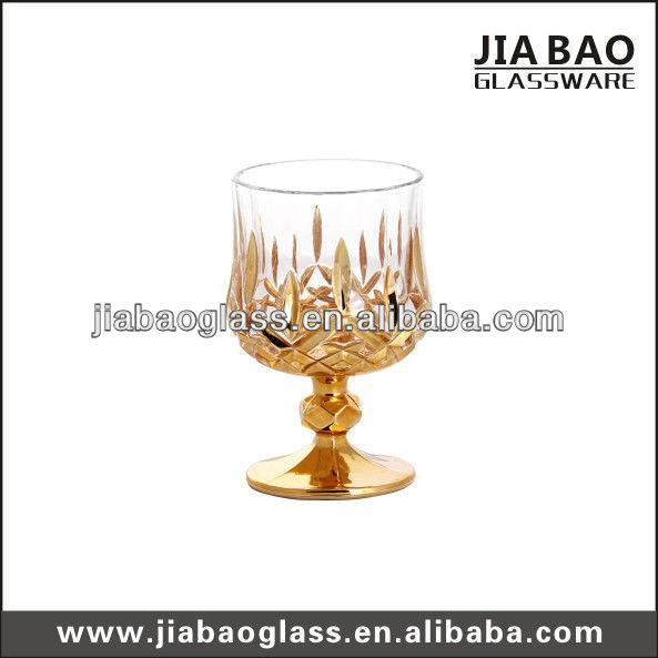220ml Gold plating diamonds unique wine glasses GB040207JC/D