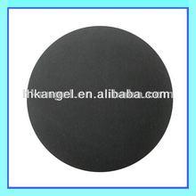 black small rubber ball