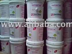 kaporit powder 60% ( calcium hypochlorite ) ex. Tjiwi