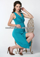 2014 New Collection Design Style Lady Fashion Maternity Dress