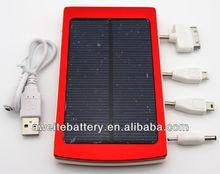 10000mAh max capacity 3.7v super mobile solar charger/sun mobile solar charger/charger for mobile phone